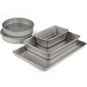 Emeril Lagasse 62670アルミメッキスチールNonstick 5-piece Bakeware Set