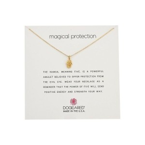 ドギャード Dogeared レディース アクセサリー ネックレス【Magical Protection, Open Hamsa Necklace】Gold Dipped