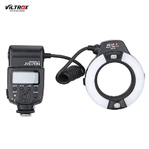 Viltrox JY-670N On-camera i-TTL マクロ Close-up Fill-in LEDリングフラッシュ スピードライト D750 D810 D7200 D610 D7000...