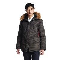(アルファインダストリーズ)ALPHA INDUSTRIES INC N-3B TIGHT 20094-2 276 RP.GRAY L