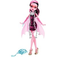 Monster High モンスターハイ HAUNTED - Getting Ghostly DRACULAURA Doll 人形 ドール 【並行輸入】