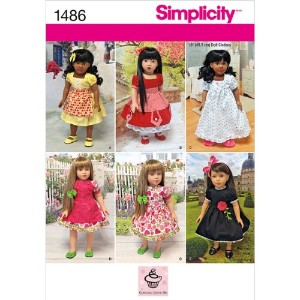 SIMPLICITY CRAFTS DOLL CLOTHES-ONE SIZE (並行輸入品)