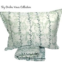 Sky Ombre Vines Reversible Duvet Cover Set Twin by Sky [並行輸入品]