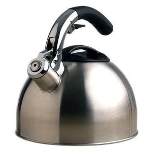 Primula Ptk-6330 3 Qt Stainless Steel Soft Grip Tea Kettle by Generic
