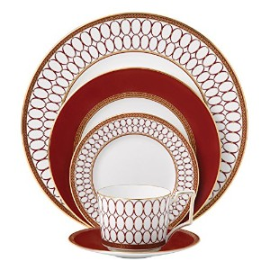 Renaissance Red 5-Piece Place Setting by Wedgwood