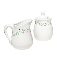 Corelle County Cottage Sugar and Creamer by CORELLE