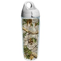 Tervis Xtra Green Knockout Water Bottle, 24 oz, Clear by Tervis