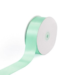Creative Ideas Solid Satin Ribbon, 1-1/2-Inch by 50 Yard, Mint Green, Solid by Creative Ideas