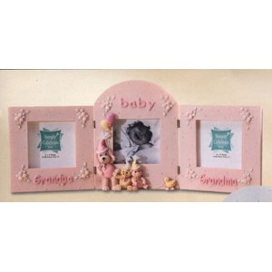 Grandparents and Baby Photo Frames - Girl by Enesco