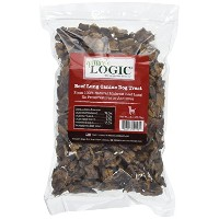 Nature's Logic Beef Lung treat Bites, 1lb, by NATURE'S LOGIC