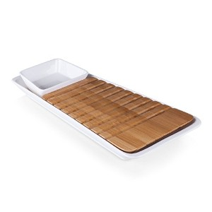 ピクニック時間Marimba Bread Cutting Board and Spreadセット