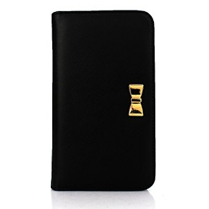 iPhone6s ケース Fantastick Wallet Case for iPhone6 iPhone6s (Ribbon Black) アイフォン6s アイフォン6 手帳型ケース