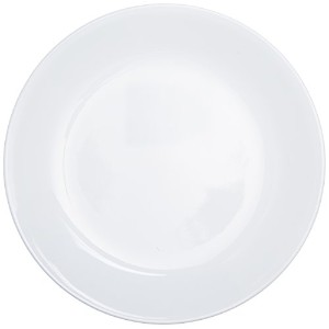 Corelle Livingware Luncheon Plate, Winter Frost White, Size: 8-1/2-Inch, Set of 6 Plates by World...