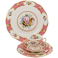 Royal Albert Lady Carlyle 5-Piece Place Setting, Service for 1 by Royal Albert