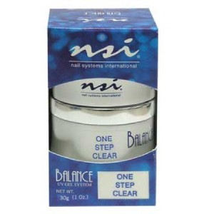 NSI Balance UV Gels - One Step Clear - 1oz / 30g