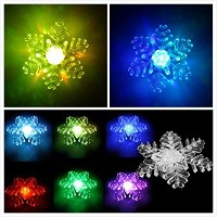 TBW吸盤Nightlight、LEDウィンドウライトカラー変更グロー、Attached to Back for Hanging in a WindowクリスマスとホリデーDecorating新しい年...