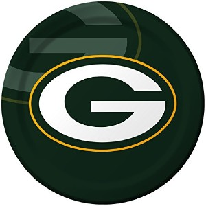 Creative Converting 8Count Green Bay Packers Paper Dinner Plates