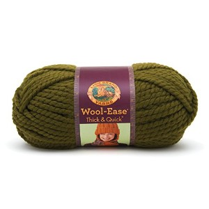 Lion Wool-Ease Thick and Quick 毛糸 超極太 グリーン系 170g 約98m