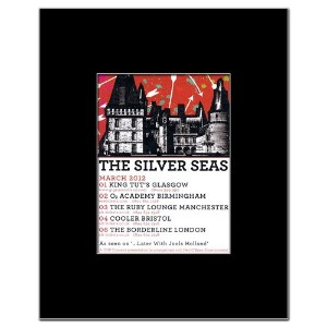 SILVER SEAS - UK Tour 2012 Mini Poster - 13.5x10cm
