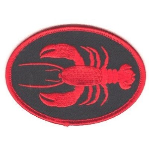 "The Lobster PATCH, by: ""Flag-It"" The Most Trusted Brand, Superior Quality Iron-On / Saw-On..."