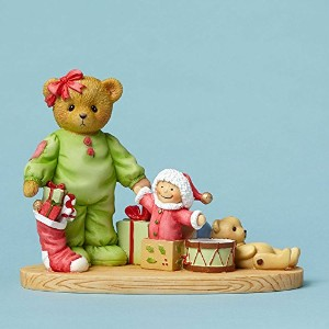 Bear with Toys and Stocking