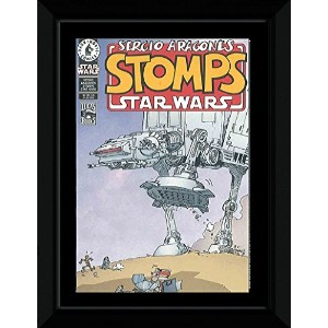 Star Wars - Sergio Aragones Stomps Framed Mini Poster - 14.7x10.2cm