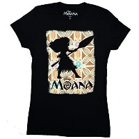 Disney Moana Silhouette Juniors T-shirt