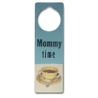 Tree By Kerri Lee Wooden Doorknob Sign, Mommy Time by Tree by Kerri Lee