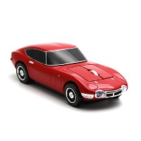 Click Car Mouse(クリックカーマウス) TOYOTA トヨタ 2000GT レッド