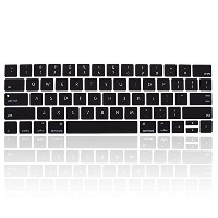 Topfit USキーボード(英語配列)用 2017 MacBook Air Pro touch bar 13/15インチ対応 新しいキーボード 防塵 防滴 防水カバー appleノート用...