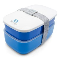 Bentgo All-in-One Stackable Lunch/Bento Box, Blue by Bentgo