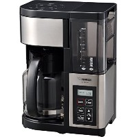 Zojirushi EC-YGC120 Fresh Brew Plus 12-Cup Coffee Maker, Stainless Black [並行輸入品]