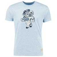 North Carolina Tar Heels Original Retro Brand Vintage Walking Rameses Tri-Blend T-Shirt メンズ...