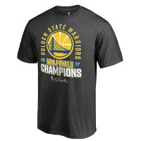 Golden State Warriors 2017 NBA Finals Champions Schedule T-Shirt メンズ Heathered Charcoal NBA Tシャツ...