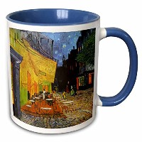 "3drose Mug _ 155653 _ 6 "" Cafe Terrace at Night by Vincent Van Gogh 1888レストランFrench Street Painting..."