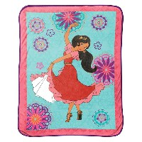 "Disney Elena of Avalor Magic of Avalor 46"" x 60"" Plush Throw"
