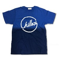 【オススメ】RHC Ron Herman (ロンハーマン):Chillax Gradation Logo Tee Blue/Navy