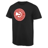 Atlanta Hawks Team Primary Logo T-Shirt メンズ Black NBA Tシャツ アトランタ ホークス