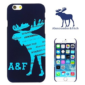 【 Abercrombie&Fitch 】 iPhone6用ケース(4.7インチ) アバクロンビー&フィッチ ロゴ デザイン a&f-005