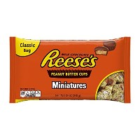Reese's Minatures Peanut Butter Cups, 340g リースのMinaturesピーナッツバターカップ