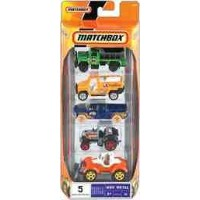 Matchbox 5-Pack Assortment