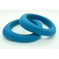 Jellystone Organic Bangle Teether - Turquoise Baja Green by Jellystone Designs