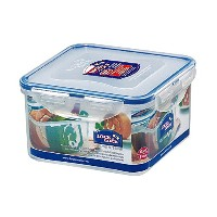 Lock&Lock 40-Fluid Ounce Square Food Container, Short, 5-Cup by LockandLock