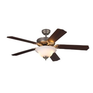 "Monte Carlo 5HM52BPND Homeowner Max Plus Ceiling Fan, 52"" [並行輸入品]"