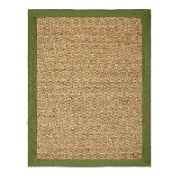 Chesapeake Seagrass 24-Inch by 36-Inch Area Rug, Sage