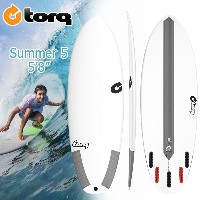 torq(トルク) TEC 5'8 SUMMER5 5 Finboxes(Futures Fin) ショートボード エポキシ EPS