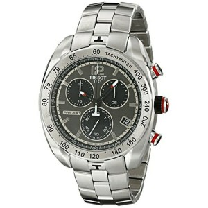 ティソ Tissot 腕時計 メンズ 時計 Tissot Men's T0764171106700 Stainless Steel Watch