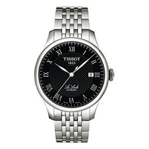 ティソ Tissot 腕時計 メンズ 時計 Tissot Men's T41148353 Le Locle Black Dial Watch