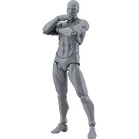 figma archetype next:he grey color ver. ノンスケール ABS&PVC製 塗装済み可動フィギュア