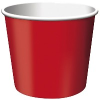 Pack of 6 Premium Quality Treat Bowls - Red
